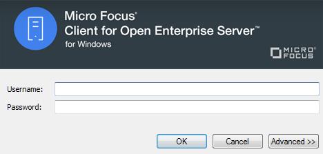 OES login window
