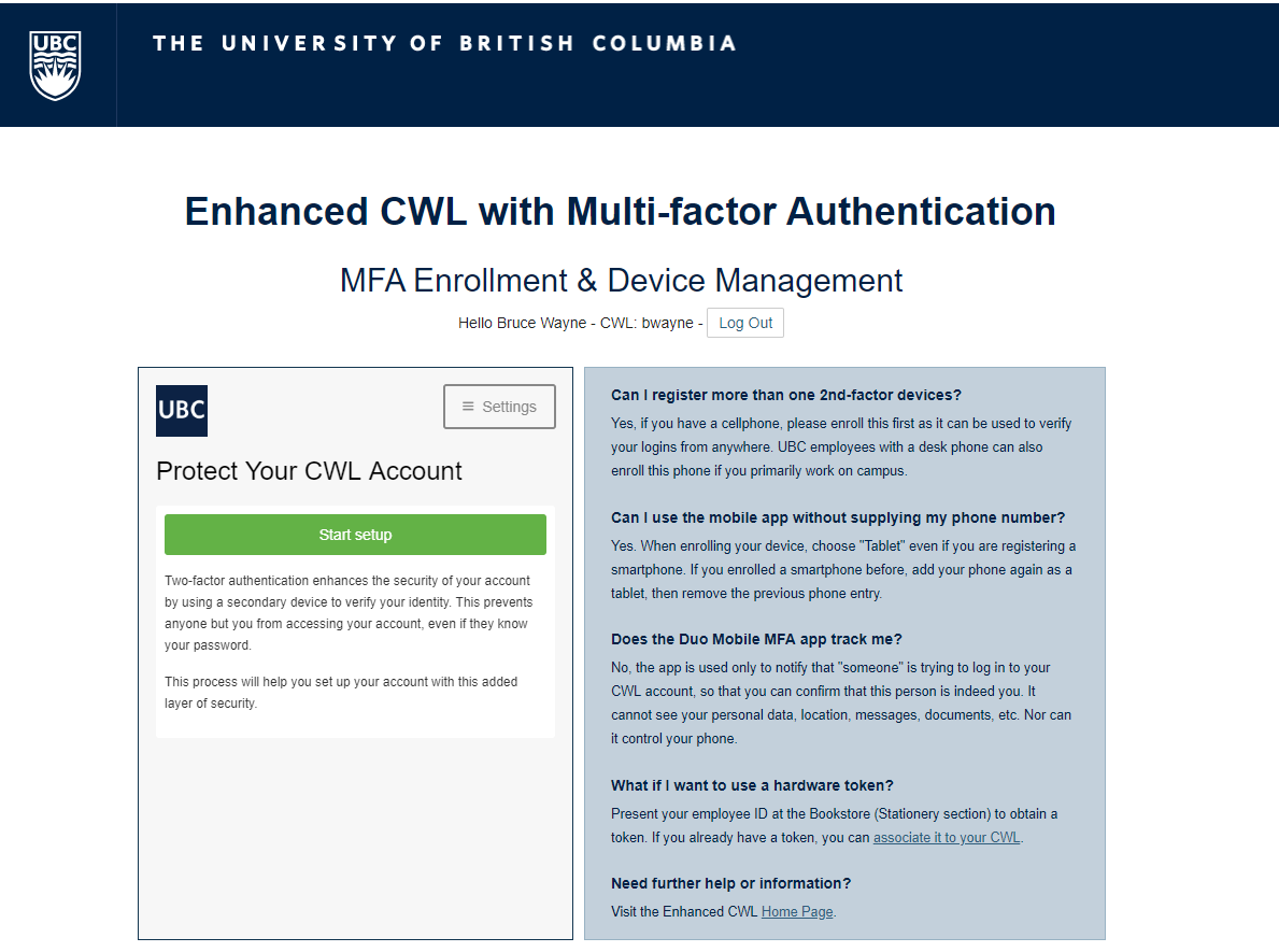 How to enrol in Enhanced CWL