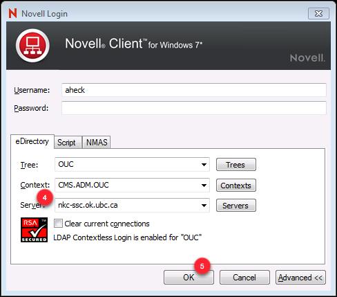 novell nmas client