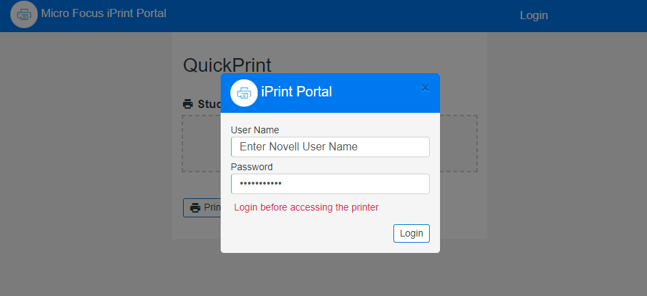 How To Print From Your Own Device Using Student Quickprint Print View